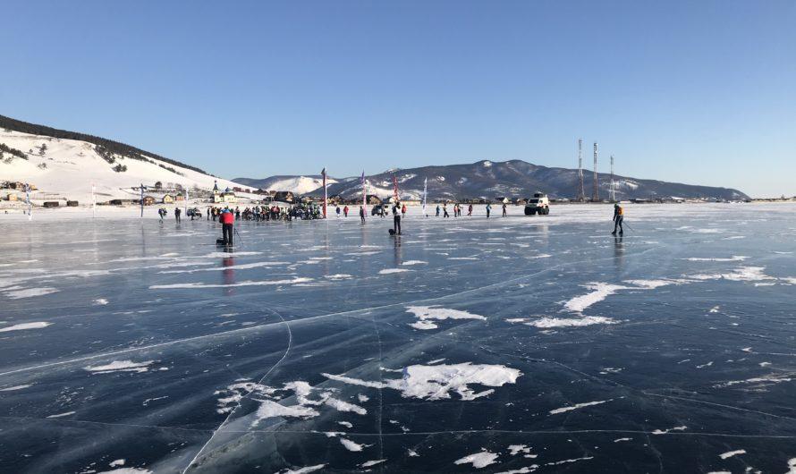 Třetí, poslední etapa – Letos se na Bajkalu bruslit nedá.
