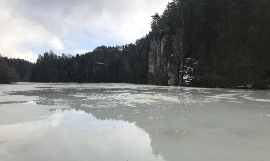 Sobotní průzkum ledu v severovýchodních Čechách