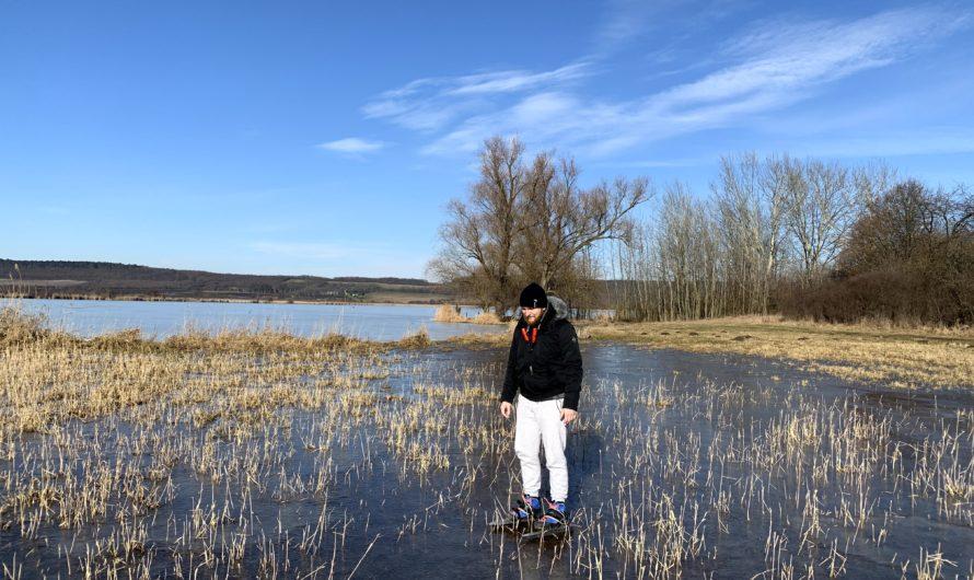 Žehuňský rybník nadvakrát